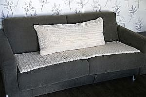 Large cushion and cover